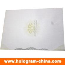Security Anti-Fake Certificate with UV Logo Printing