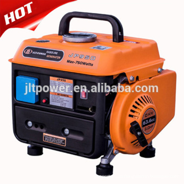 Gerador de gasolina de 2 tempos de 650W