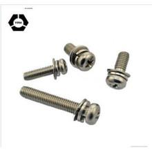 Phillips Hex Head Machine Screw / Steel Machine Screw