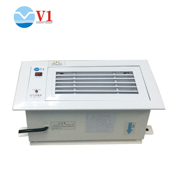 Air Return Type Photoelectric Air Purification Device