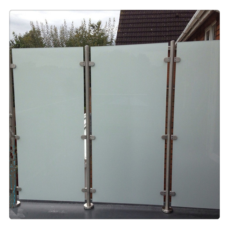 Toughened frosted glass