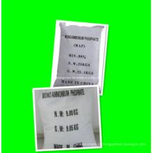 Fertilizante de fosfato de diidrogênio de amônio, preço do mapa 12-61-0 Fábrica de alta qualidade