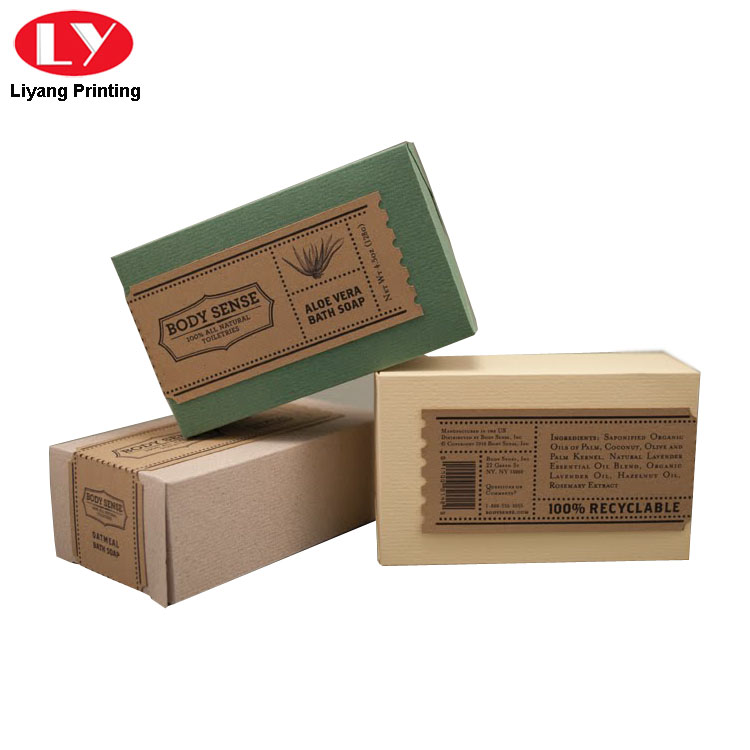 Soap Paper Packaging Box