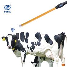 Lector de palo RFID portátil de 134,2 khz para identificación de ganado