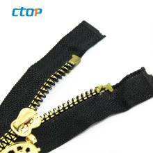 custom logo puller open end plastic zipper