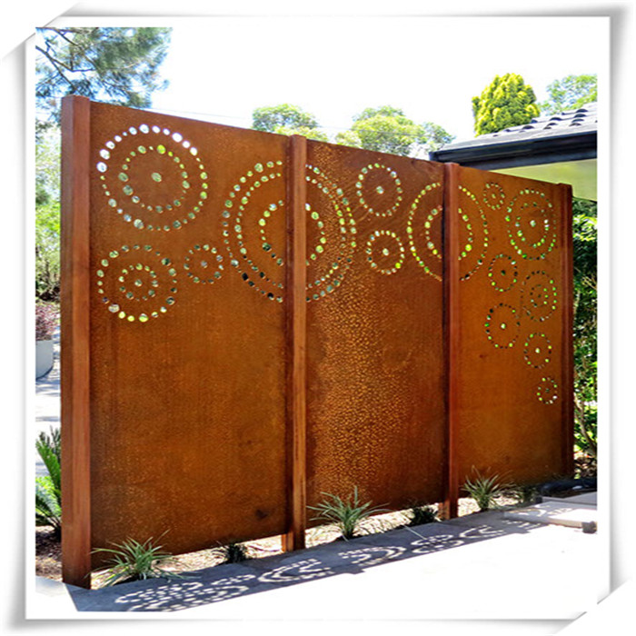 Laser Cutting Metal Screen Gate