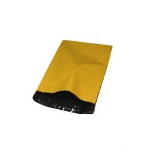 Bolso de correo plástico amarillo impermeable