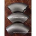 Raccord de tuyau de soudure bout à bout en acier inoxydable Sch40 304H / coude sans soudure