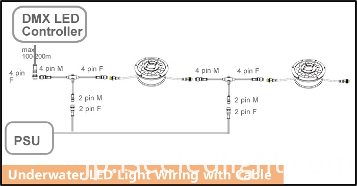 underwater light wiring diagram