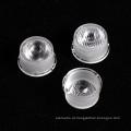 Lente de menisco transparente de alta qualidade para luz LED