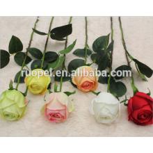 Bouquets de fleurs roses artificielles de haute qualité pour le mariage et le paysage