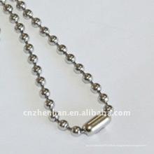 4.5mm Edelstahl Kugelketten-Metall-Kugelvorhang Kettenvorhang Zubehör, Vorhang Montage, Rollo Kette, Vorhang Design