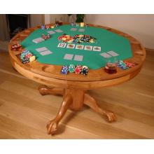 Mesa de póquer de madera maciza (ITEM 201)