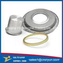 Capots ronds en métal faits sur commande par Spinning Processing