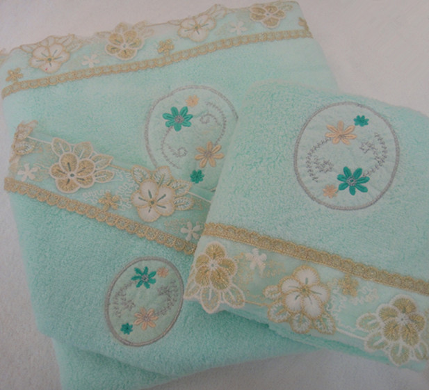 3-Piece Bathroom Towel Set
