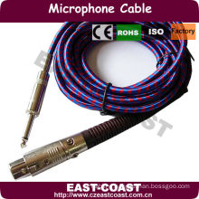 double shielded microphone cable