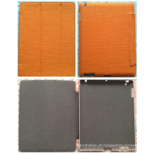 Laranja Personalizar cânhamo Canvas Tablet PC caso para iPad Air Mini Case (C-002)