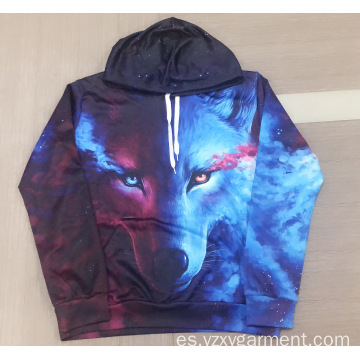 Sudadera Skywolf con estampado digital