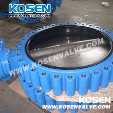Lug completo Wafer Válvula Borboleta de ferro fundido (D371)