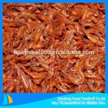 Iqf de crevettes sèches congelées et congelées