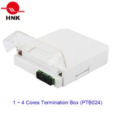 1 ~ 4 ядра 1 коробка для подключения оптического кабеля к оптическому кабелю (PTB024)