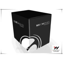 2016 Großhandel hochwertige schwarze Papier Parfüm Geschenk-Boxen