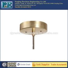 china low cost cnc machining parts brass fitting