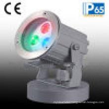 3W RGB LED Garden Spot Light