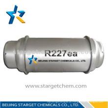 Refrigerante HFC227ea gás utilizado para extinção de incêndios