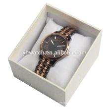 Focus Quartz Mens Gold Watch With Mens Gold Mesh Bracelet