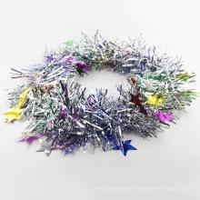 Factory Wholesale Custom Flashing Wreath Star Glittering Flashing Tinsels Headbands