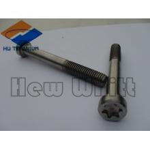high strength titanium M6 torx head