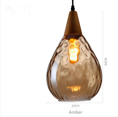 Amber Pendants Lamps