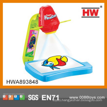 High Tech Plastic Kid's Drawing Toy Projector