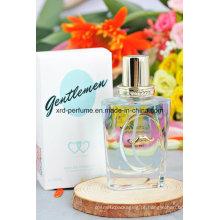 Perfume personalizado do cavalheiro do perfume da cor do projeto de forma vário
