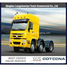 Caminhão do trator da roda 420HP de Sinotruk HOWO 10 para o mercado de África