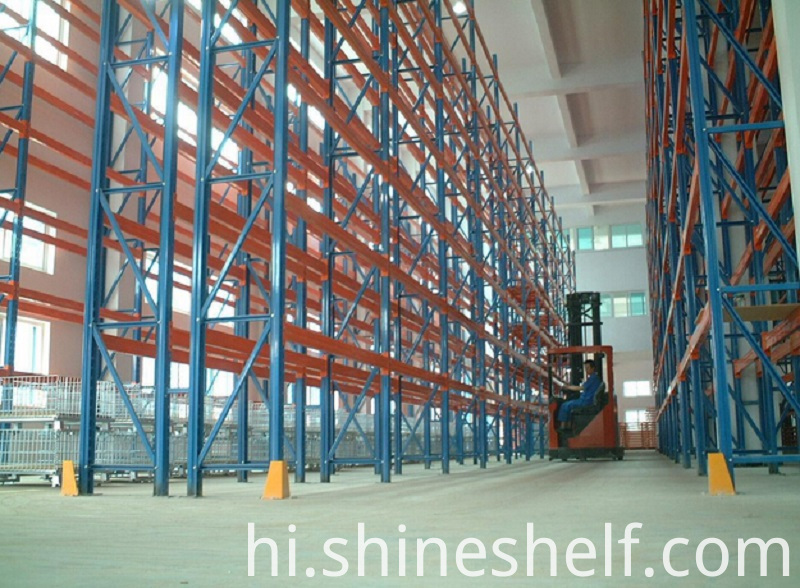 2 Pallets Deep Racking