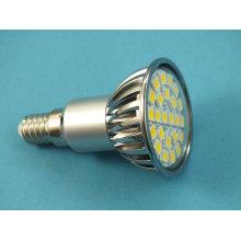 Nuevo JDR E14 24 5050 SMD LED lámpara de proyección