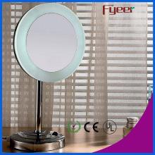 Fyeer Free Standing Single Side LED Makeup Table Mirror