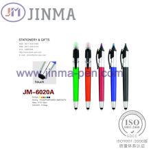 Der Promotion Highlighter Kugelschreiber Jm - 6020A mit einem Stylus Touch