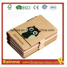 Hochwertiges Öko-Papier Notizbuch für Schreibwarenbedarf