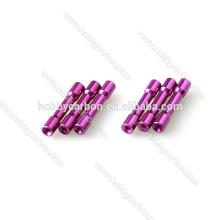 Hersteller-Preis für M3 * 5.0mm farbiger Hexenkopf-Schritt-Aluminiumabstandhalter / -abstandshalter
