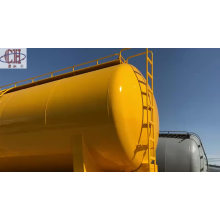Semi-remorque pétrolière à 3 essieux largement