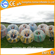 Big sale tpu balle à bulle à bille pour le football / ballole ball ball