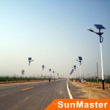 Producto solar fotovoltaico 5 años de garantía 50W luz de calle con energía solar