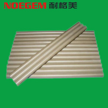PEEK PolyetherEtherKetone plastic rod with chemical