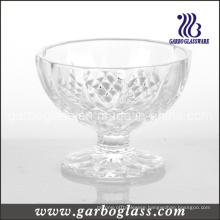 High Quality Diamond Glass Ice Cream Bowl (GB1007ZS)