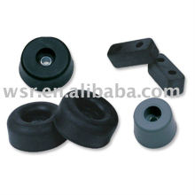 custom molded protective rubber stopper bumpers
