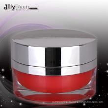 Jy220-02 50g Oval PMMA tarro cosmético