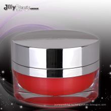 Jy220-02 50 г овальной ПММА косметические Jar